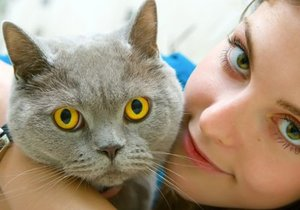 Заразиться от кота лишаем