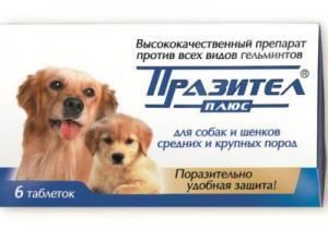 пиперазин инструкция по применению для животных собак
